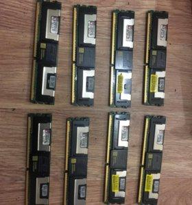 оперативная память 32GB DDR2 Kingston. для сервера