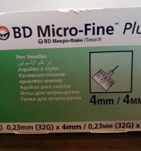 Иглы для шприц-ручки BD Micro-Fine