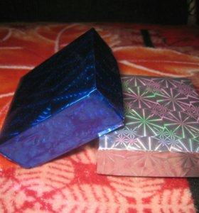 Коробочки 2 шт (7*7*3 см)