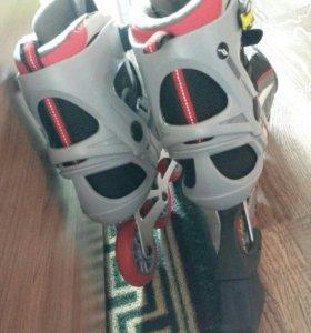 Роликовые коньки новые размер 45
