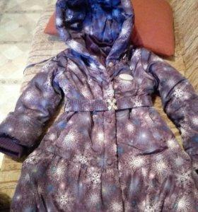 Детское зимнее пальто