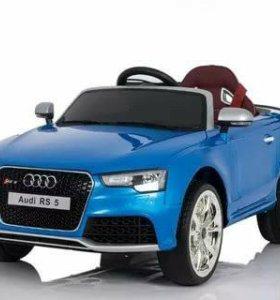 Детский электромобиль ауди Rs5