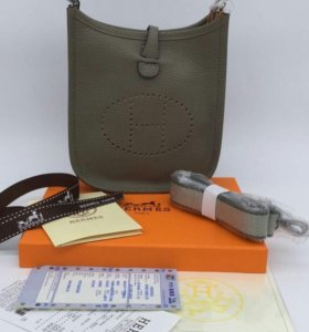 Сумка HERMES EVELYNE BAG TOURTERELLE