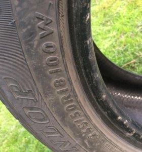 Резина лето Dunlop 18 245/50