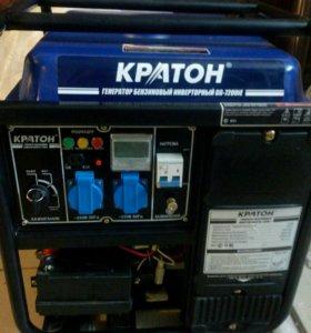 Генератор бензиновый КРАТОН GG-7200iE.
