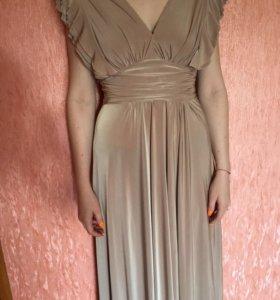 Платье нарядное из вискозы