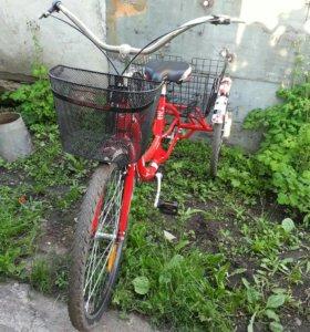Велосипед грузовой stels energy-1(новый)