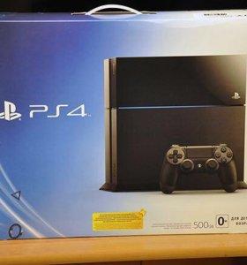 Sony PlayStation 4 500гб с играми