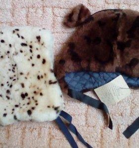 Зимние шапки из овчины