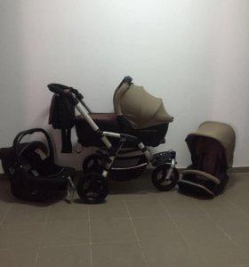 Детская коляска jane 3 в 1
