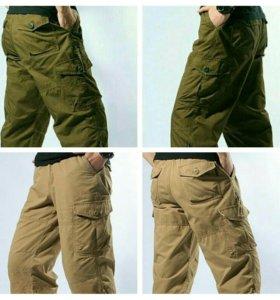 Тактические мужские шорты-бермуды на резинке 54-56