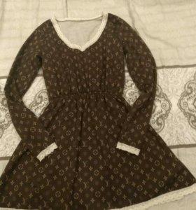Платье на 5+
