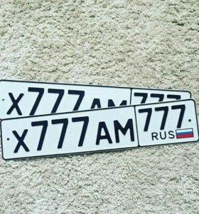 Любые номерные знаки на авто