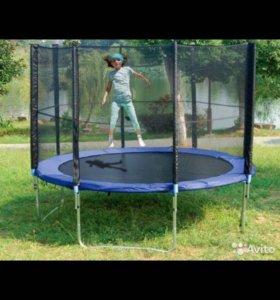 Новый батут Trampoline 10 (3,0 метра) с сеткой