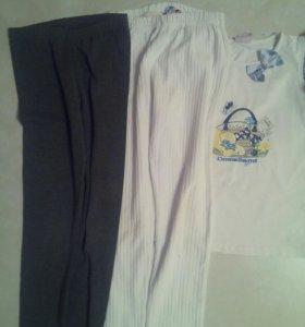 Одежда для девочки пакетом, рост 122-128