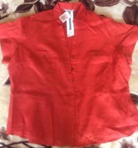 Женская блузка 100% лён