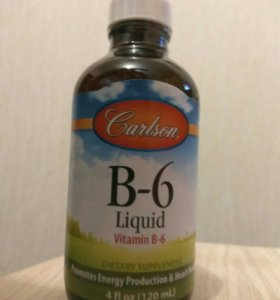 Витамины Carlson Labs, Жидкий B-6 (120 мл)