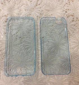 Передняя и задняя панель на айфон 5,5s,5se