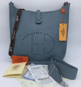 Сумка HERMES EVELYNE BAG TOURTERELLE TOGO