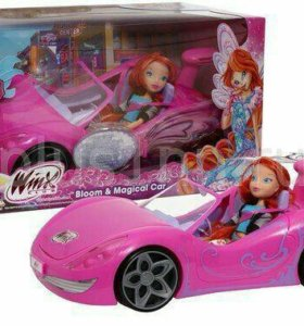 Новая.Машина «Bloom Magical Car» и кукла Winx.