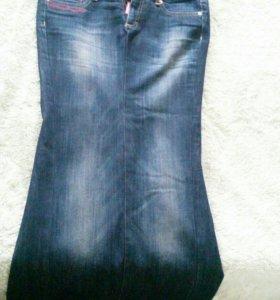 джинсы юбка