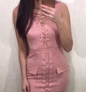 D&G платье розовое спандекс