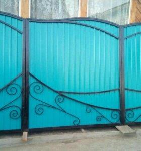 Ворота+калитка