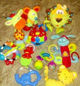 Игрушки от 0мес