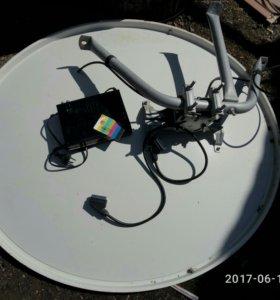 Спутниковая тарелка телекарта