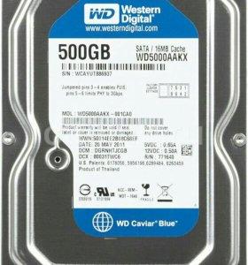 Жесткий диск Western Digital 500GB 3.5