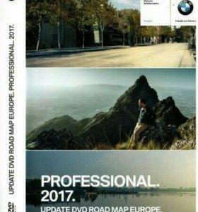 DVD диск для BMW карты 2017