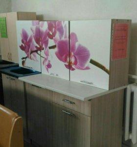 Кухонный гарнитур Орхидея (1,5м)