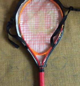 Рюкзак и ракетка Wilson 21 для большого тенниса
