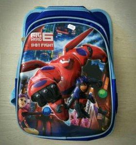 Ранец детский с 3D рисунком хит этого сезона