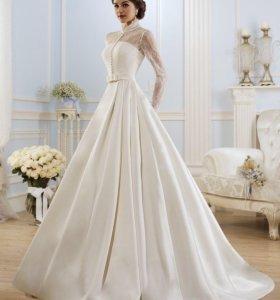 Стильное свадебное платье-транформер