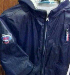 Осенная куртка раз 122