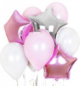 шары фольгированные (6штук)