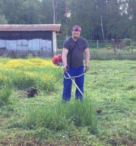Пропашка и покос огорода