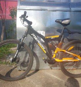 Велосипед Merida Fireball 26 двухподвес новый