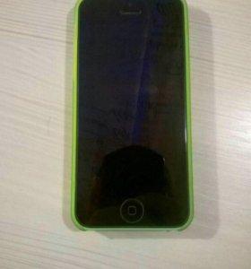 Айфон 5с (салатовый)