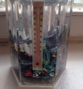Стакан термометр