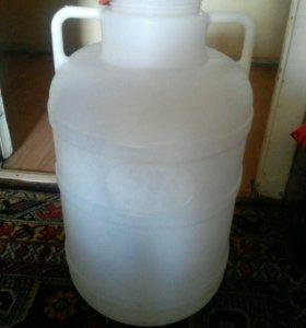 Канистра 50 литров. Пищевая.