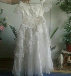 Платье для девочки 7 8 лет