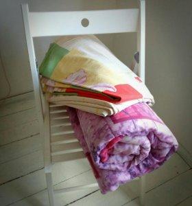 Одеяло + пододеяльник