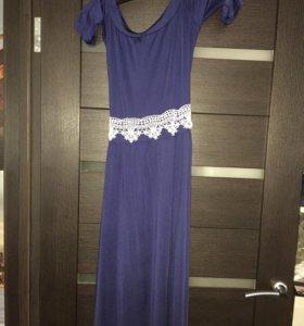 Платье в пол ,