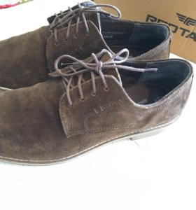 Замшевые туфли RED TAPE