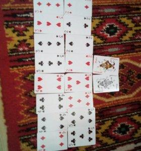 Покерные карты.