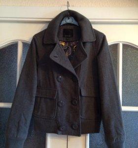 Теплая куртка полу-пальто Amisu, 42-44 размер