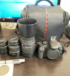 Canon EOS 550D комплект