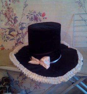 Шляпа невесты,жениха(на машину)